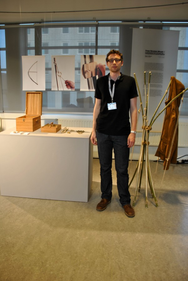 Dutch Design Week 2012 / Taylor Gilbert – Time Tension Wood