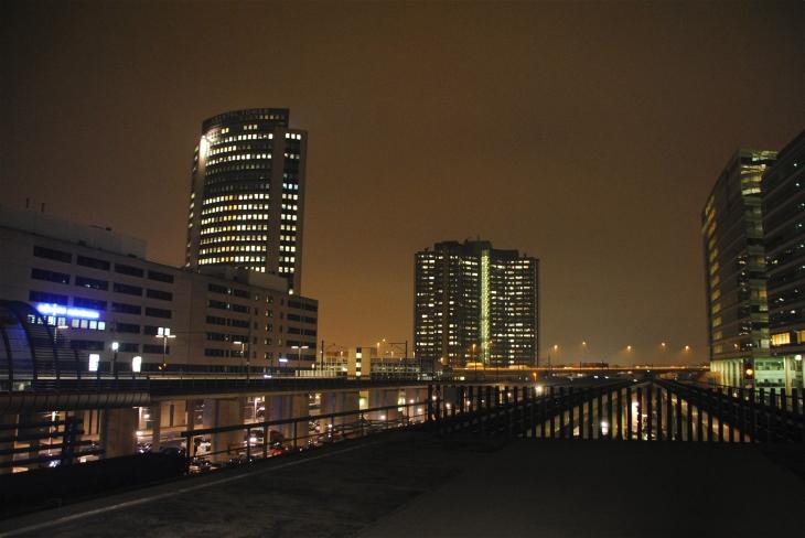 Amsterdam Sloterdijk night pic